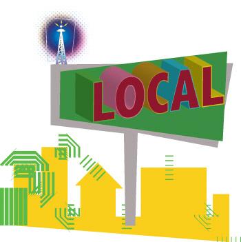 lokale digitale werbung
