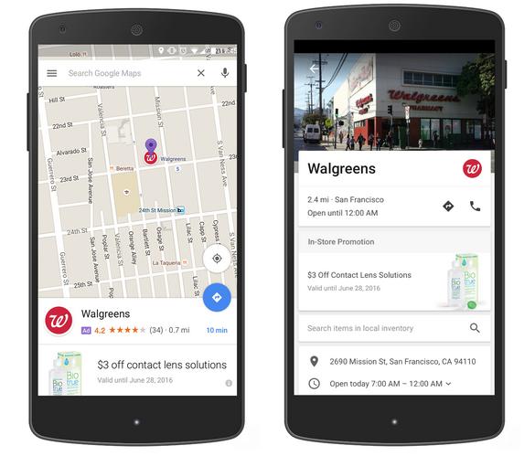 Lokale mobile Suche